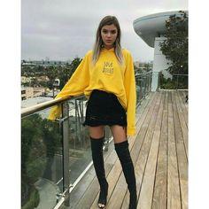 My life is yellow Alissa Violet Style, Alissa Violet Outfit, Fashion Killa, Girl Fashion, Fashion Outfits, Womens Fashion, Fashion Trends, Fashion Edgy, Fashion 2018
