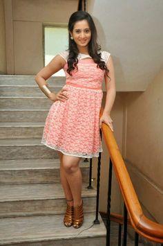 Indian Girls Villa: Harshika Stills At Appudu Ala Ippudu Ila Movie Tra...