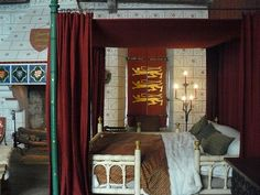 Edward III's bedroom at Tower of London