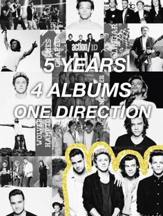 #5YearsOfOneDirection // made by @Tati1D5