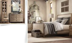 Bedroom Restoration Hardware