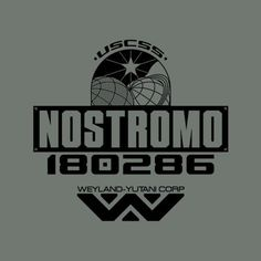 USCSS Nostromo T-Shirt - If you're lookin' to hitch a ride to then look no further than the USCSS Nostromo. Need to see our Size Chart? All our tees are pr Film Logo, Alien Queen, Queen Of Spades, Ad Art, Old Signs, Movie Props, Tour T Shirts, Worlds Of Fun, Science Fiction
