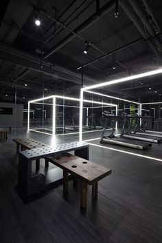 For more inspiration follow on IG: THEGYPSETTER  Nike Studio in Beijing by Coordination Asia