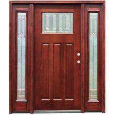 Luxury 12 Lite Entry Door