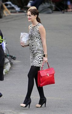 Gossip Girl | Blair Waldorf | Animal Print Sheath Dress