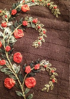 I  ribbon embroidery . . .    All about needlework: quilting embroidery sewing. Blog Patchnath