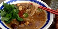 Vegetarian Pho - finally!  I've been looking for a vegetarian version for a long time.