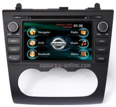 2007 08 09 10 11 12 Nissan Altima In-dash Navigation DVD GPS Radio AV Receiver CD SD USB MP3 Deck iPod/iPhone-ready Bluetooth Hands-free A2DP Music Streaming Touch Screen Steering wheel controls Multimedia stereo w/ rear view camera option SQUARE S SS-4023JL - http://www.productsforautomotive.com/2007-08-09-10-11-12-nissan-altima-in-dash-navigation-dvd-gps-radio-av-receiver-cd-sd-usb-mp3-deck-ipodiphone-ready-bluetooth-hands-free-a2dp-music-streaming-touch-screen-steering-whe