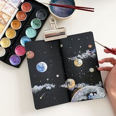 Anna Koliadych (@dearannart) • Instagram photos and videos Watercolor Flowers, Watercolor Paintings, Artist Painting, Watercolors, Coloring Books, Colouring Pencils, Art Techniques, Art Education, Colored Pencils