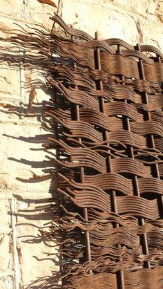 Metal Wire weaving wall art