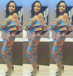 Jumpsuit Ankara Styles to Rock This Season 2017 - DeZango Fashion Zone