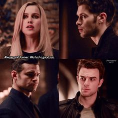 The Originals Rebekah Klaus Elijah Kol