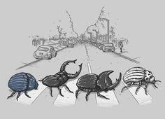 The Beetles (via @threadless)