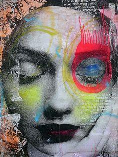 Kuiper Steward street art, Dain, by paul nine-o Collage Kunst, Collage Art, Amazing Street Art, Amazing Art, Graffiti Art, Art Visage, Art Et Illustration, Art Graphique, Art Design