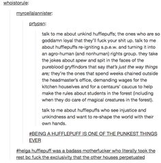 13 Tumblr Posts That Will Make You Proud To Be A Hufflepuff