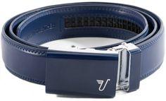 Mission Belt Men's Blue Leather Ratchet Belt - Large - Naval Blue Mission Belt. Save 22 Off!. $34.95