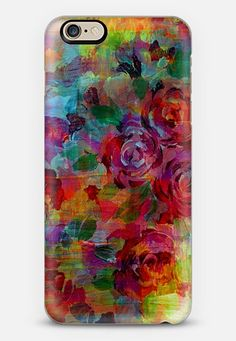 THROUGH ROSE-COLORED GLASSES - Bold Colorful Roses Abstract Layered Floral Garden Summer Flowers Rainbow Multicolor Shabby Chic Textural Fine Art Girly Modern Chic Design iPhone 6 case by Ebi Emporium | Casetify @casetify #floral #flowers #garden #colorful #art #summer #roses #multicolor #rainbow #fineart #painting #modern #chic #nature #outdoors #iPhonecase #iPhone #case #cover #iPhone5 #iPhone6 #iPhone5c #tech #techie #device #EbiEmporium Get $10 off using code: 5K7VFT