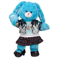 """New Shake It Up Bunny at Build-A-Bear Workshop. Got this email today, the """"Pin-it"""" button was right in the email!  Handy!!"""