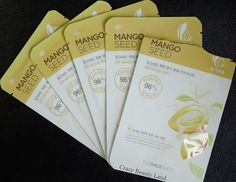 The Face Shop Mango Seed Moisturizing Sheet Mask | Crazy Beauty LandReview