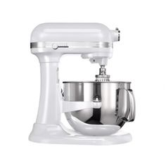 So lush!!  NEW KitchenAid® Artisan Stand Mixers 6.9L - Frosted Pearl