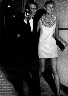 Jean Shrimpton and Jeanloup Sieff by Richard Avedon.
