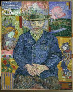 Vincent Van GoghLe Père Tanguy© Musée Rodin - ADAGP - Photo : Jean de Calan