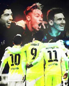 Messi And Neymar And Suarez Wallpaper (8)
