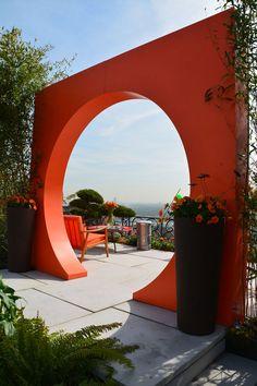 Le jardin du futur : Une pièce à vivre inventive, colorée et d'eau… douce ! - Marie Claire Maison