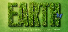 Create a Spectacular Grass Photoshop Text Effects tutorial