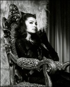 Lee Ann Meriwether as Cat Woman (I was named after the original cat woman)