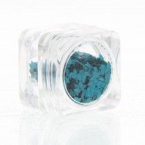 Sibel Nails Art Nail Art Slice Kit Donker Turqoois Glitter Ref.61020 64 1Stuks