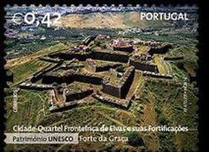 Why you need to get to know the Alentejo, Portugal - Alentejo has two UNESCO World Heritage Sites: Évora and Elvas. Photo: The impressive Fort of Graça, Elvas, The Alentejo, Portugal Visit Portugal, Spain And Portugal, Vila Medieval, Star Fort, Site Classé, Douro, Fortification, World Heritage Sites, Aerial View
