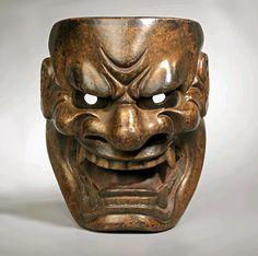 japanese shi shi masks | . Artist unknownKyôgen and Kagura Masks.While many shishi masks ...