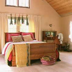 Autumn bedroom | Bedroom furniture| Decorating ideas | Image | Housetohome.co.uk