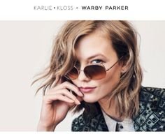 A Glamorous Revelation: Sunglasses Fit For An [Victoria's Secret] Angel Karlie Kloss x Warby Parker