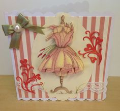 Card using the image of the Katy Sue Cd