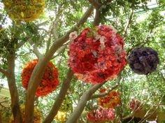 Flower lanterns - amazing!