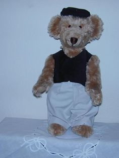 Jack the Golfing Teddy Bear
