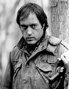 Powers Boothe in Southern Comfort Hollywood Men, Golden Age Of Hollywood, Classic Hollywood, Iconic Movies, Classic Movies, 80s Movies, Powers Boothe, Louisiana Swamp, Jungle Jim's