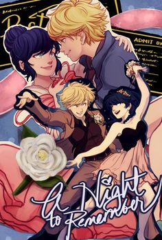 I want a poster of this! (Miraculous Ladybug, Adrien, Marinette, dancing, Adrinette)