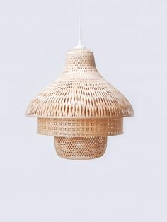 pinned by barefootstyling.com  Bamboo Lamps by Daphna Laurens for FairForward
