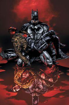 red hood & batman
