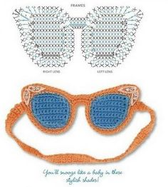 Crochet Mask - Chart ❥ 4U //