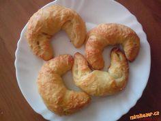SÝROVÉ ROHLÍKY Bagel, Shrimp, Bread, Cooking, Food, Kitchen, Kochen, Breads, Baking