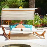 Found it at Wayfair - Emma Sunbed with Canopy