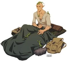 Sera: Right, you're messing with me on purpose! Solas: Why would I do that? It is not as though I know who filled my bedroll with lizards. i love them