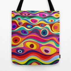 STRATA Tote Bag by THE USUAL DESIGNERS - $22.00