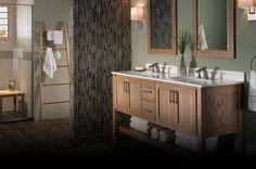 Birch Bathroom Vanity Cabinets
