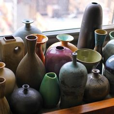 I love this pottery collection