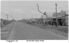 Main Street (Nepean Highway), Chelsea Melbourne Victoria, Victoria Australia, Main Street, Street View, Melbourne Suburbs, The Old Days, Back In The Day, Historical Photos, Family History